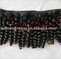 1b# black super quality pure brazilian hair weft deep wave beautiful