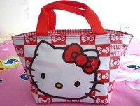 New cute lunch bag Hello kitty Handbag Girls Handbag#86