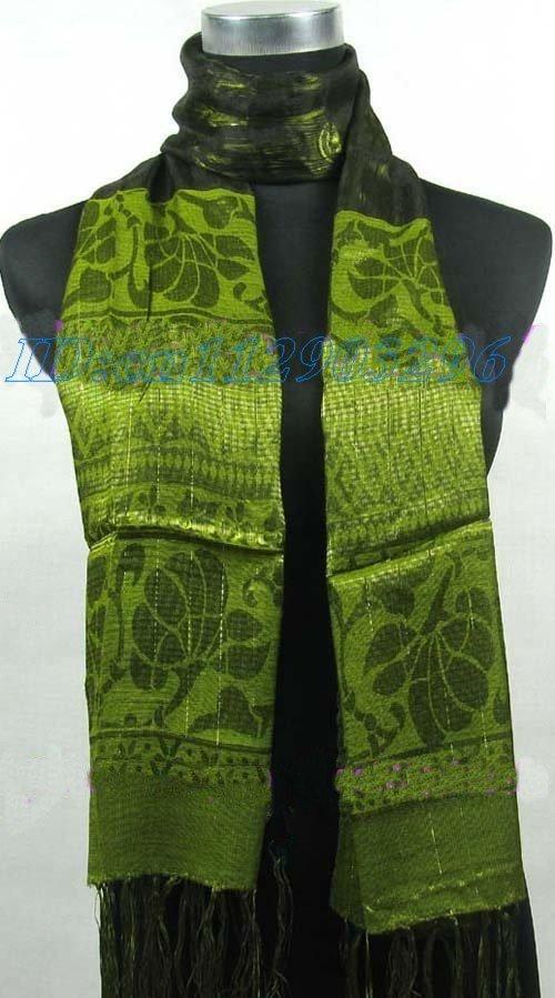 wholesale 20pcs Scarves Shawl Wrap Stole silk Scarf S016(China (Mainland))