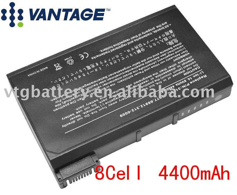53977 Latitude C, CP, CPi, CPt, CPx, C500, C600, C800, and LCP Series Laptop Battery(China (Mainland))