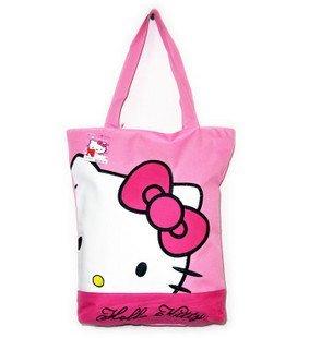 High Quality Hello Kitty Shopping Bag,Hello Kitty Fashion Handbag,15 pcs/lot,Free Shipping