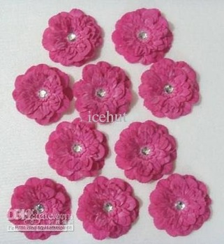 peony flower baby bows Children's Hair clip girl flowers barrettes hair flower 600 pcs icehut hahae