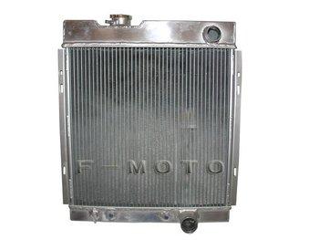 oversize aluminum radiator suit for FORD MUSTANG 64 65 66 V6