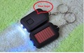 Free Shipping, 40pcs/lot wholesale Colorful Mini Solar Power Rechargeable LED Flashlight Torch Light