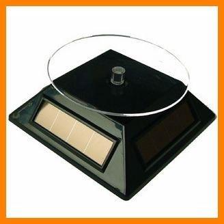 Free shipping 6 pcs/lot Mini Solar Powered display stand