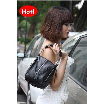 Hot women's 100% genuine cow leather handbag Messenger/Shoulder/Tote Dual-Function bags, YSL050S