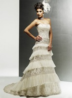 designer lady new-style shining wedding gown hot selling exquisite gf55