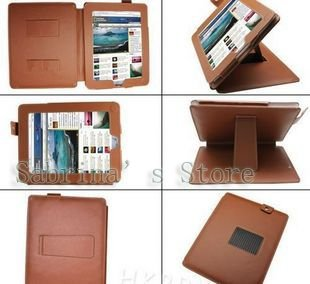 "New Arrival 2013 Fashion leather bag For 9.7"" Apple Ipad 10pcs/lot, free shipping(China (Mainland))"