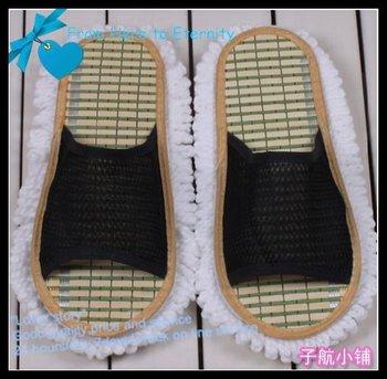 Wholesale - cleaning dust mop slipper ,indoor slipper , floor slipper,cotton yard sole,5pcs/lot