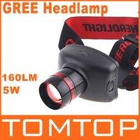 Лампа для головы 160LM Adjustable 3-Modes LED headlamp Waterproof head light led Torch Lighting