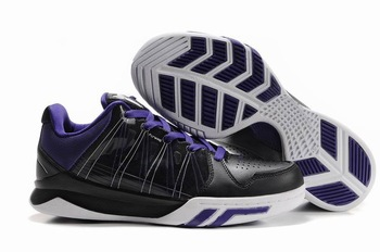 Free Shipping Wholesale Dream Season II Men's Basketball Footwear Sport Sneaker Shoes - Black / White / Purple