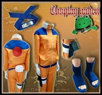 Wholesale Free Shipping Hot Selling Cheap Cosplay Costume C0103 Naruto Uzumaki I New