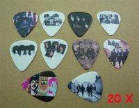 Lots of 20 Pcs Rock Band The Beatles 2 sides printing Guitar Picks