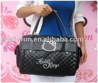 Hot sale Hello Kitty imitation leather schoolbag, tote bag, leisure handbag, shoulder bag,Fashion bag,ladies' handbag