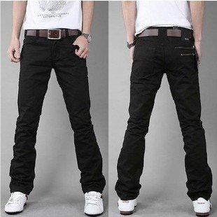 Black Khaki Pants For Men