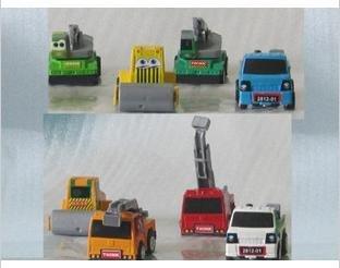 free shipping mini tractors/trucks The new car back to power super speed mini cars toys children model hobby 24pcs/set