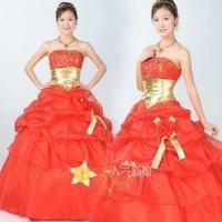 New wedding dress bridal gown popular / wedding dress wedding dress was thin su