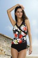 best quality 30sets/lot Flowers One piece Sexy Bikini Fashion Cute Swimwear Free shipping
