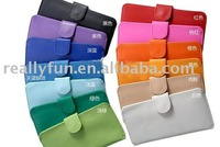 50pcs/lot, Hot Sale High Fashion Korean PU Leather Wallet/Purse,ladies' fashion wallet