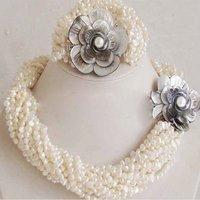 wonderful   AAA++++quality    nature freshwater wedding necklace