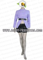 Wholesale Free Shipping Hot Selling Cheapest New Cosplay Costume C0132 Naruto Karin