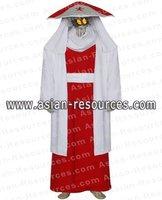 Wholesale Free Shipping hot Selling Cheap New Cosplay Costume C0136 Naruto Sarutobi 3rd Hokage