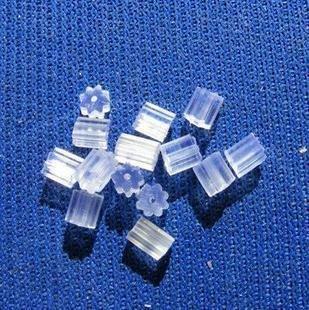 1000шт/много никеля бесплатно Белые пластиковые серьги