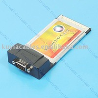Free Shipping+tracking number!! New brand PCMCIA serial card with driver+wholesales