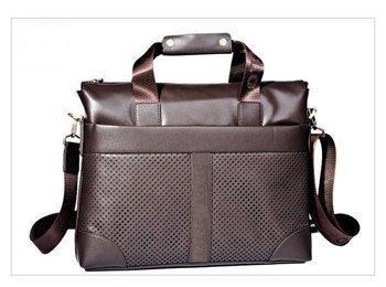 Promote sales 2011 new style of true leather handbag, briefcase, laptop bag, shoulder bag, the inclined Ku wraps
