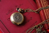 Free shipping ,Minimum quantity 1 piece,Ancient totem carve spend pocket watch