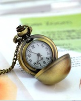 Free shipping ,Minimum quantity 1 piece,Antique craft ball pocket watch
