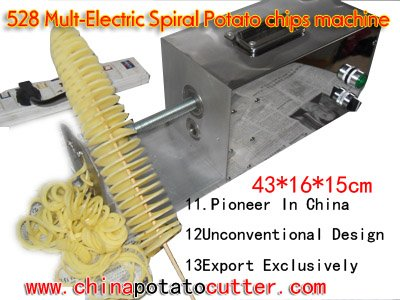 528 fryer gas, chips machine, potato cutting(China (Mainland))
