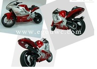 Free shipping 1:8 remote motorcycle