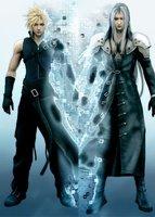 Final Fantasy VII Cloud Sephiroth Dakimakura Case #78