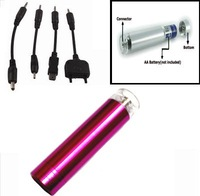mobile phone emergency charger, multi-color for choice, small, easy to bring, charge your cellphone anytime anywhere