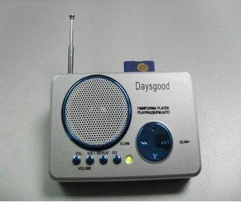 1pcs/Lot Mini Speaker Portable Card Reader Speaker For MP3/MP4/PC/Phone!