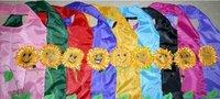 New Arrival 200pcs Sunflower Bag Reusable Bag Cute Eco Reusable Shopping Shoulder Tote Polyester Bag