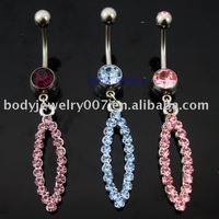 belly ring button ,nice and new style JFB-4447