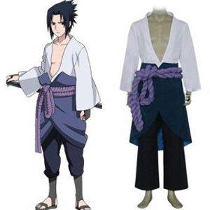 Naruto Shippuden Sasuke Uchiha 3rd Cosplay Costume - Freeshipping