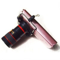 Universal 8X Telescope Optical Lens Kit for Mobile Phone Cameras with Bracket OEM