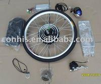 NEW HEAD light + 36v 500w electric bike conversion kits with rear wheel, 36v 500w e-bike conversion kits with rear wheel