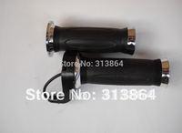 New model 1 Pair High quality 24V/36V/48V/60V/72V E-bike twist throttle&Grip Black Color Accelerator Set