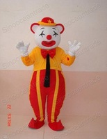 CLOWN COMIC  adult size cartoon mascot custom outfit custom-made