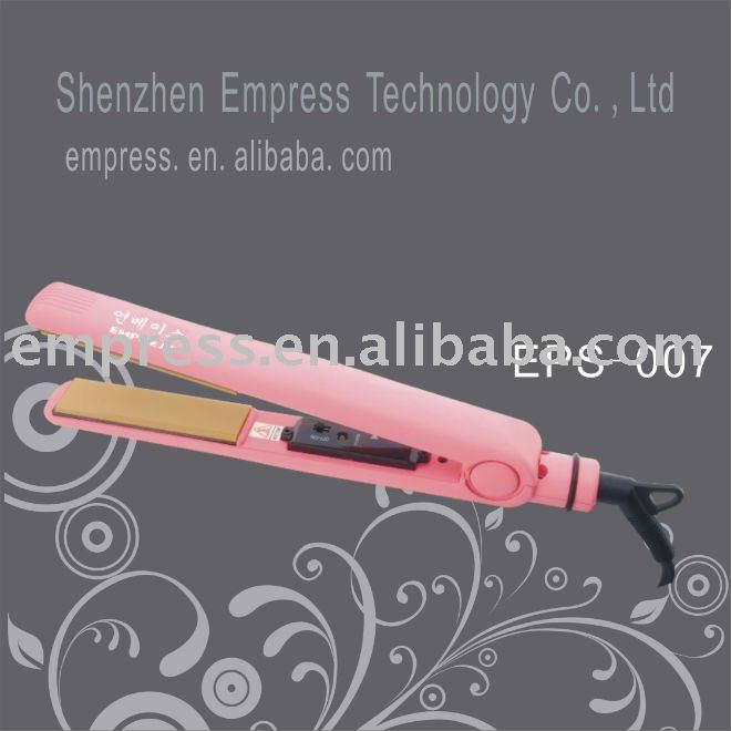 Hot Selling Fashion Pink Hair Straightener(China (Mainland))