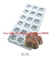 10pcs [sd2170 Plum flower] Chocolate Mould Jelly mold , transparent hard material