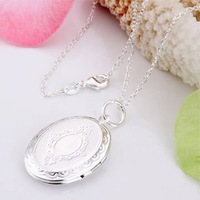 Wholeseale Fashion jewelry  Free  Shipping  925  sterling silver classiclook  Necklace with nice charms C107
