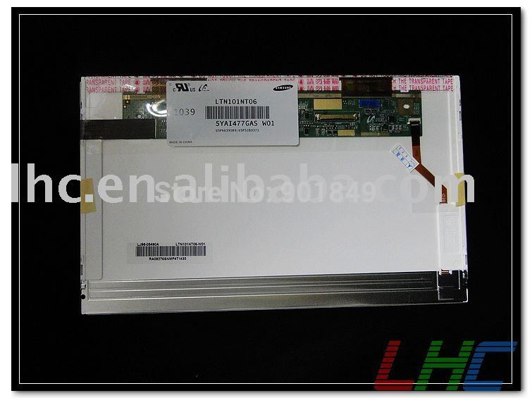 Fully tested laptop LCD screen LTN101NT06 W01 laptop monitor(China (Mainland))