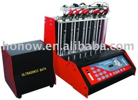 Auto Fuel Injector Cleaner and Tester, 8 cylinders of gasoline fuel injector cleaner(without working table)