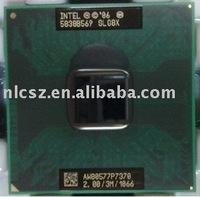 Intel laptop CPU P7370 SLG8X 2.0GHz/3M/1066MHz bulk packing free shipping cost