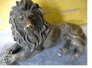 Rassemblez les statues en bronze de lion de chance 100% free shipping